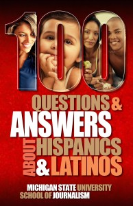 Cover for 100 Questions and Answers About Hispanics and Latinos