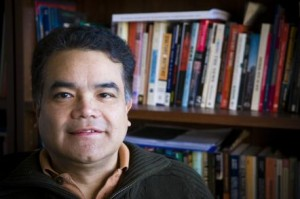 Manuel Chavez, associate professor of journalism. Photo by G.L. Kohuth