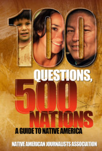 Cover to a 100-question guide about Native Americans