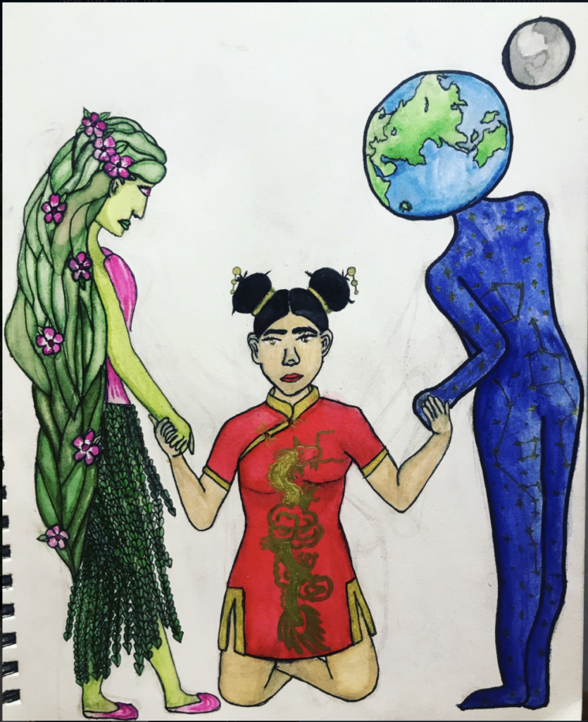 Artwork by Kelly Shi, 15, Queens, New York
