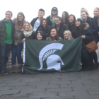 MSU Students in China