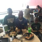 Rodney Page said he would not choose any other place to raise his two sons, Jayden and Bryson, in any other city other than East Lansing.