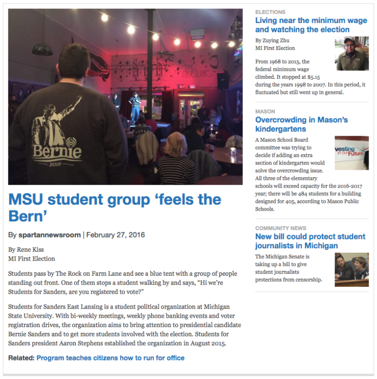 Articles Featured on the Homepage