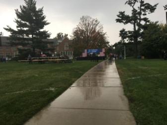 Bernie Sanders rally held in East Lansing, Michigan. Picture taken by Kelly Sheridan