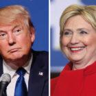 Trump and Clinton Debate