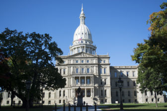 The Michigan Capitol Building