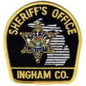 Ingham County Sheriff's badge