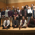 Student refugees, humanitarian leaders and musicians took the stage together on Nov. 13, 2016 at the MSU Cook Recital Hall.
