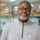 Principal Les Key of Hamady High School near Flint, Michigan, has been an advocate for efforts to fix the city's lead-contaminated water system.