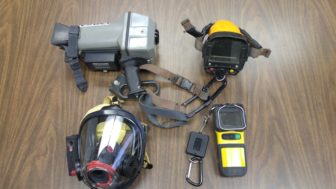 A showcase of current and previous thermal imaging equipment.