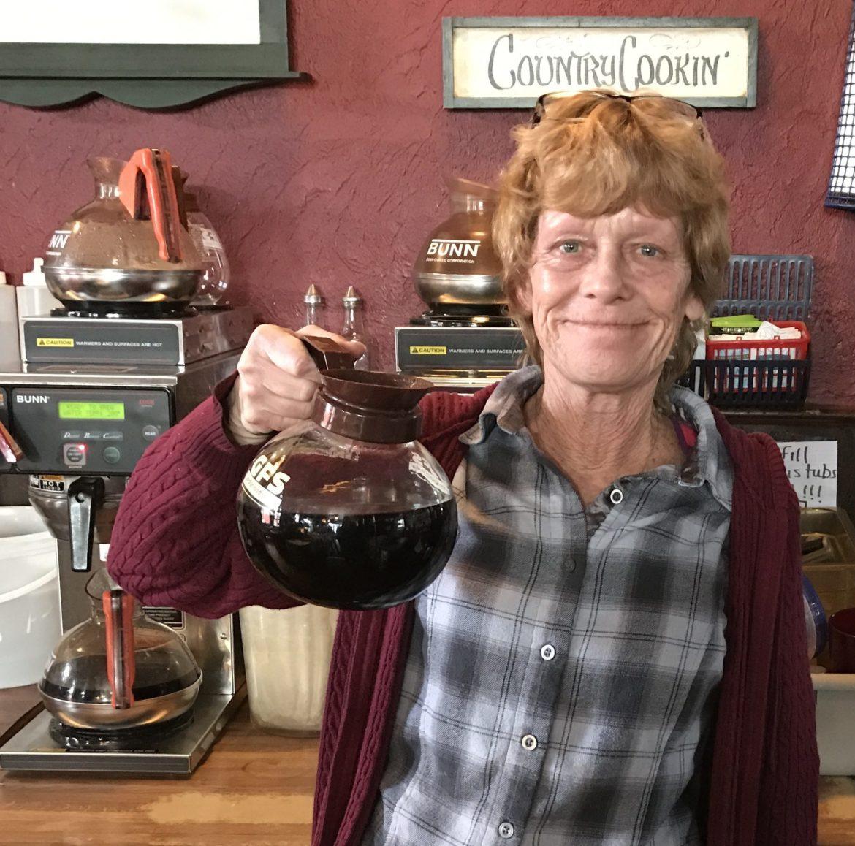Rosie Forquer Mason Depot Diner server