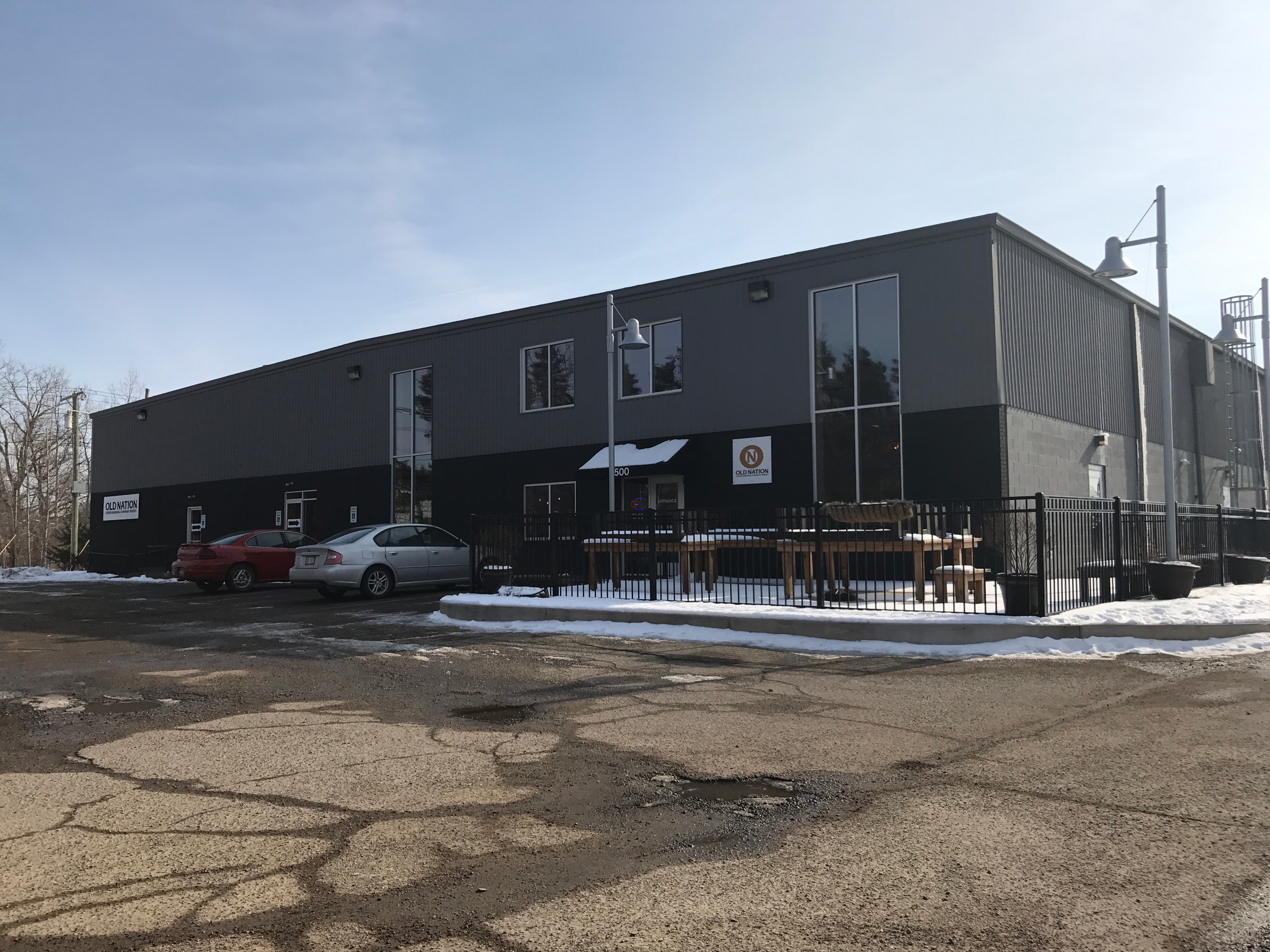 """Old Nation Brewing Company is located at 1500 W. Grand River, Williamston, MI, where the old Police Station and Habitat for Humanity used to be located at."""