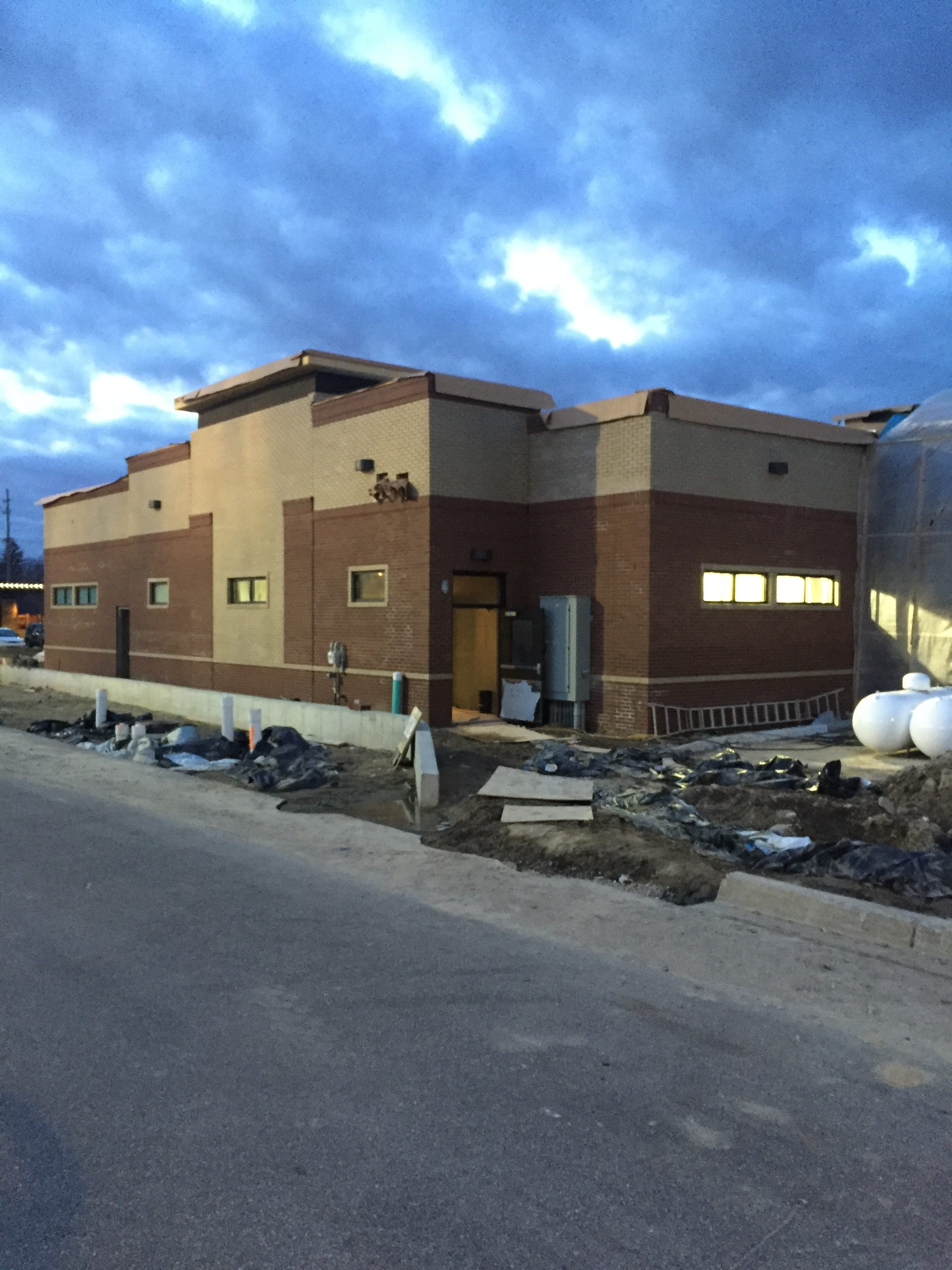 Feb. 14, Chick-fil-A is being constructed in front of Meijer.