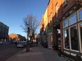 Sidewalk view on Turner Street in Old Town. Photo by Alexis Downie
