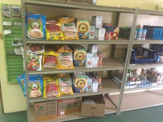 Cereal is one of the staples of the inventory at the Harold Larson Williamston Food Bank