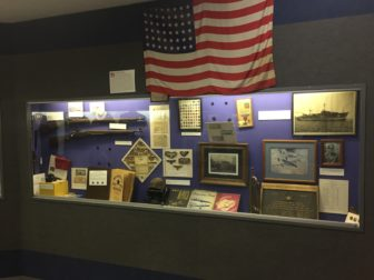 The American Legion's permanent exhibits that pays tribute to the Williamston citizens who contributed during the country's wars and major conflicts