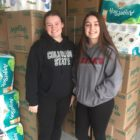 Kate McCrackin (left) and Carlee Payne (right) are the founders of the annual Birthday Toilet Paper Drive.