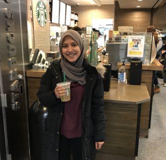 Starbucks Barista, Muslim student from Malaysia