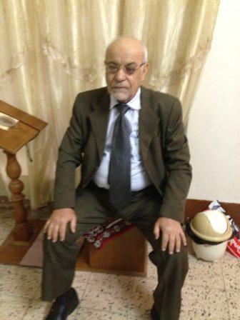 Granddad during his visit to America.