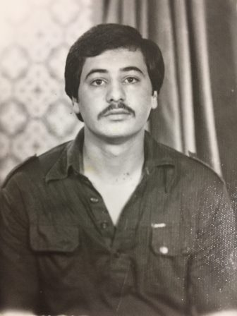 Lutfi Alrishood in his younger years.