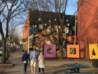Old Town is known for being very artistic with its many paintings and murals.