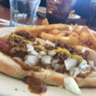 A coney dog and fries may be a tasty option, but it certainly is not a healthy one. Photo: Austin Short