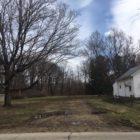 A vacant lot that used to be known as the premises at 507 Stoner St. in Lansing Township, Mich. The Lansing Township Board of Trustees voted to tear down the property as it posed a safety hazard for the general public. Demolition for the house started on March 8, 2017. Photo by Casey Harrison