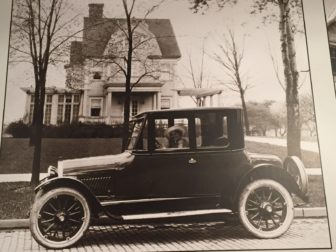 Old photo of the Cooley Haze House in the early 1900's