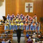 Choir concert at Mason United Methodist Church