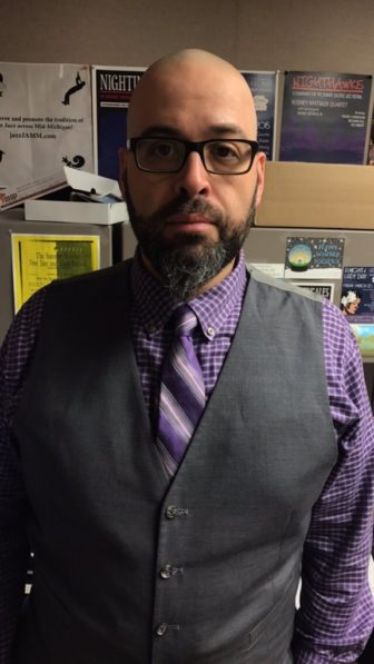 Festival coordinator Benjamin Hall