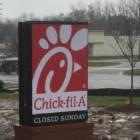 Chick-fil-A has had a steady stream of customers since it opened about a month ago.