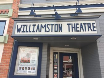 The front of the Williamston Theatre, which brings in roughly 10,000 people a year to the cities downtown.