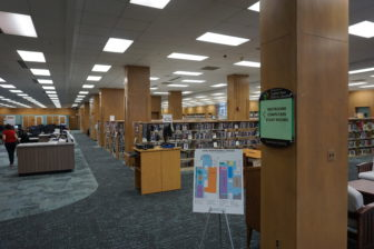 The newly renovated CADL Downtown branch has been a welcome improvement. Photo by Lukas Eddy