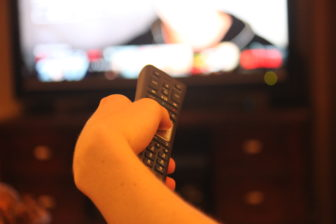High school and college seniors turn on Netflix and television more often when school is coming to a close.