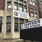 Front of Eastern High School