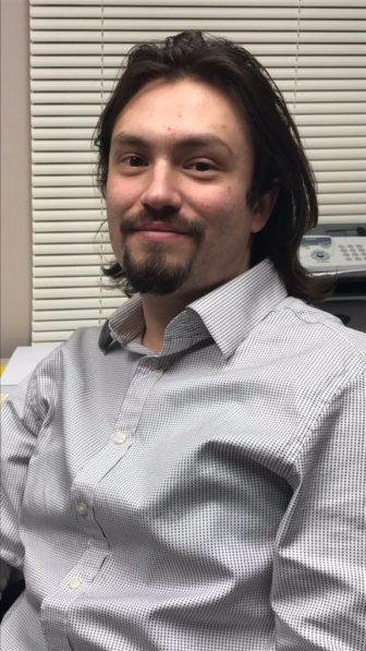 Intern Joseph Vasquez