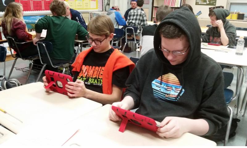 iPads for german class