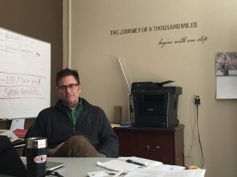 Vice President of Community Engagement for Volunteers of America Michigan, Darin Estep.