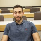 Ramie Taher, an American Syrian and member of the Muslim Students' Association at Michigan State University