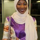 woman wearing a headscarf