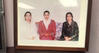 Right, is Dr. Abbasi, at center is Prime Minister Benazir Bhutto of Pakistan who was assassinated in 2007, and left, is Abbasi's sister, Fahmida Mirza, who is the first Muslim women to be elected as speaker of the house.