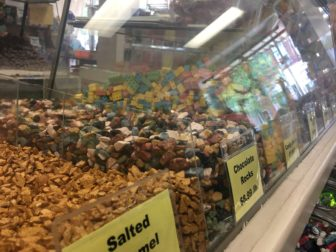 Pictured are just some of the many selections available at Kean's Candy Shoppe, Mason's longest continuously running store.