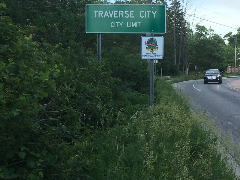 Within Grand Traverse County are City Limits. The area inside here would be affected by the policy's of sanctuary status.  Photo by Amy Davis.