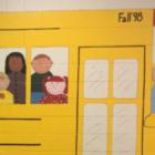 School bus mural