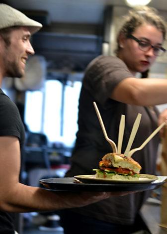 Fork burger