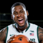 Branden Dawson was a member of the Spartans men's basketball team from 2011-2015. He is MSU's career blocks leader with 142, fifth in career starts, sixth in career steals and seventh in career rebounds.