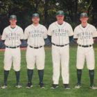 From left to right: Jordan Keur, Graham Sikes, Jake Boss Jr. and Skylar Meade.