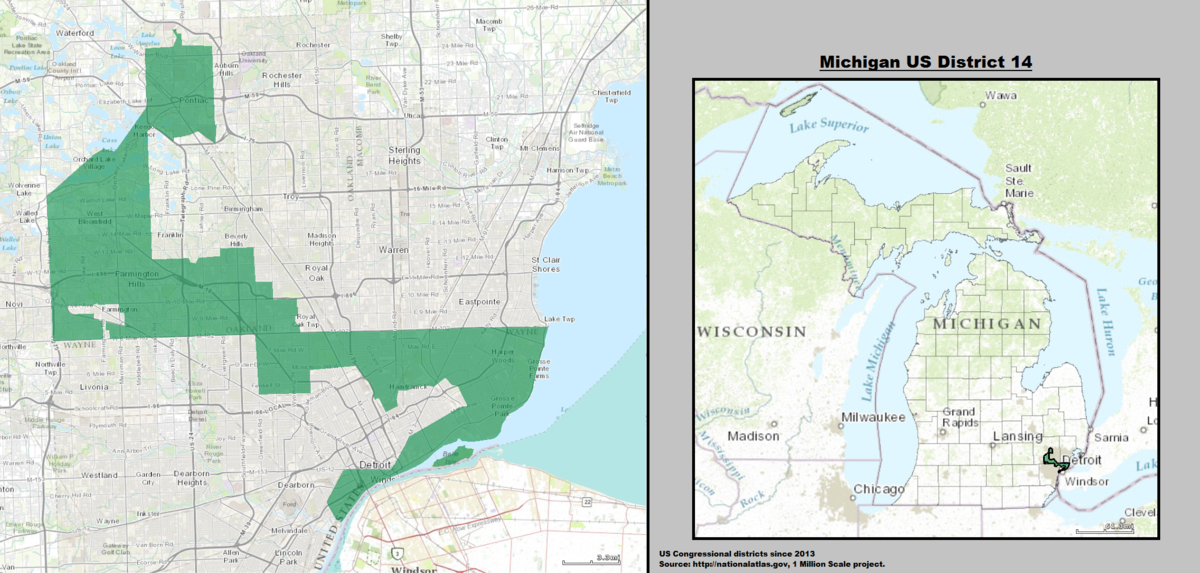 Antigerrymandering Proposal Moving Closer To Michigan Ballot - Us Congressional District Map