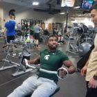 Phil Williams & Han train at Powerhouse Gym