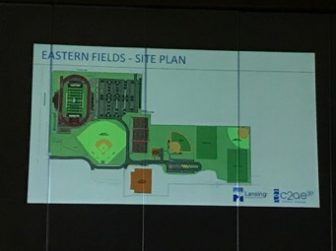 Proposed athletic renovations for Eastern's move